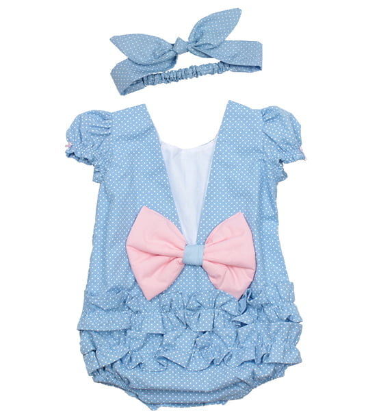 KIT ROMPER SMASH AZUL