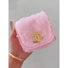 Bolsinha Infantil Menina Rosa