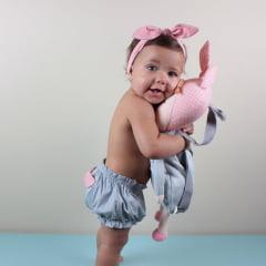 CALCINHA INFANTIL METOO CINZA