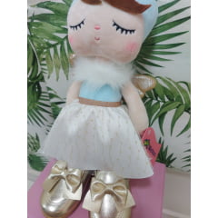 Sapato dourado infantil