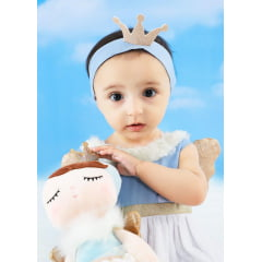 KIT INFANTIL METOO DOLL ÂNGELA ANGEL AZUL
