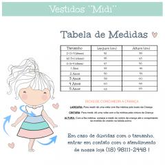 VESTIDO INFANTIL PARA MENINA AMARELO MARSHMALLOW